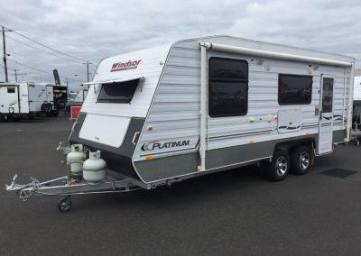 Windsor Platinum Caravan