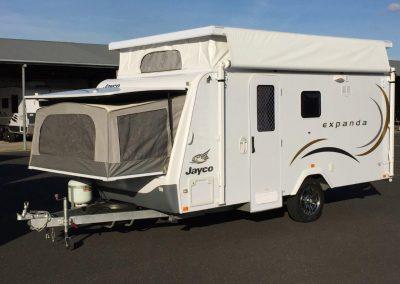 Jayco Expanda 14.44-4HL Pop Top with 2 Bunk Beds
