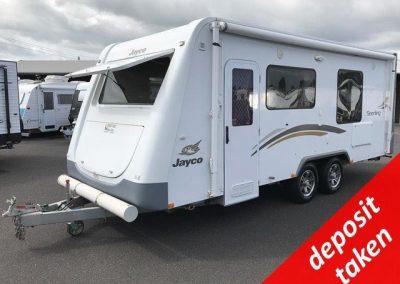 Jayco Sterling Slideout 19.61-5 Caravan
