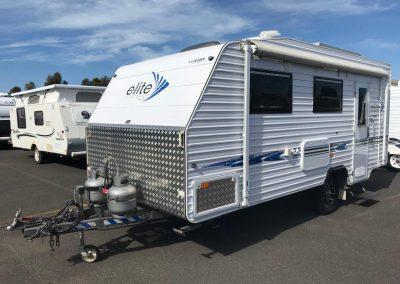 Elite Luxury Class 1800SB Caravan