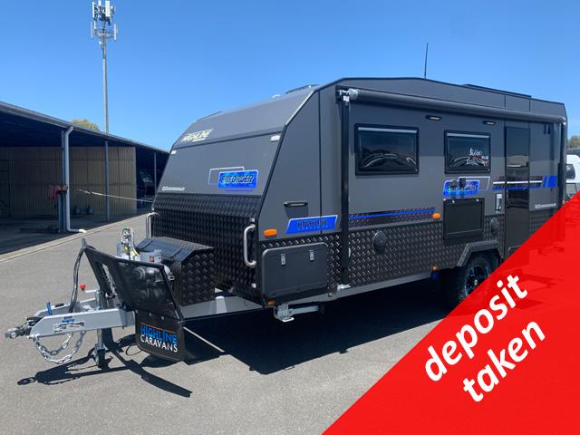 NEW Highline Enforcer 17'6 Off Road Caravan with Single Beds