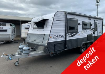 Opal Southern Explorer Series 196 Caravan with independent suspension