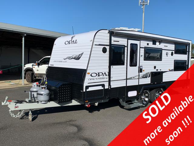 NEW Opal Tourer Mk1 200 Caravan with Bunk Beds