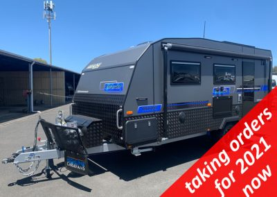 NEW Highline Enforcer 17'6 Off Road Caravan with Single Beds