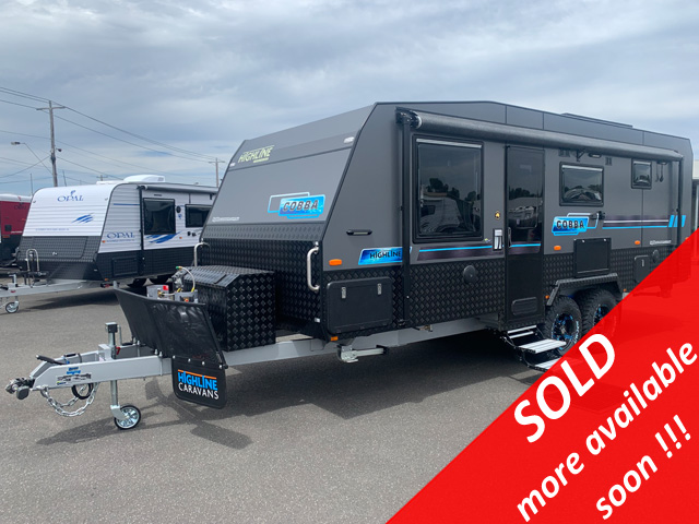 NEW Highline Cobba 21'6 Off Road Caravan with 3 Bunk Beds