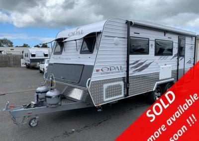 NEW Opal Southern Explorer Series 186 Single Beds Caravan