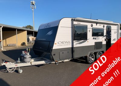 NEW Opal Southern Explorer Series 186 Caravan