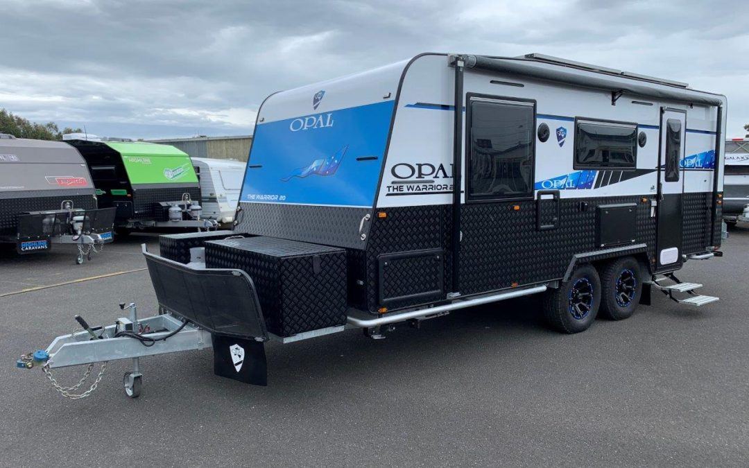 NEW Opal Warrior 200 Caravan with Independent Suspension