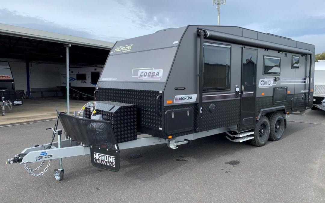 NEW Highline Cobba 21'6 Off Road Caravan with 2 Bunk Beds