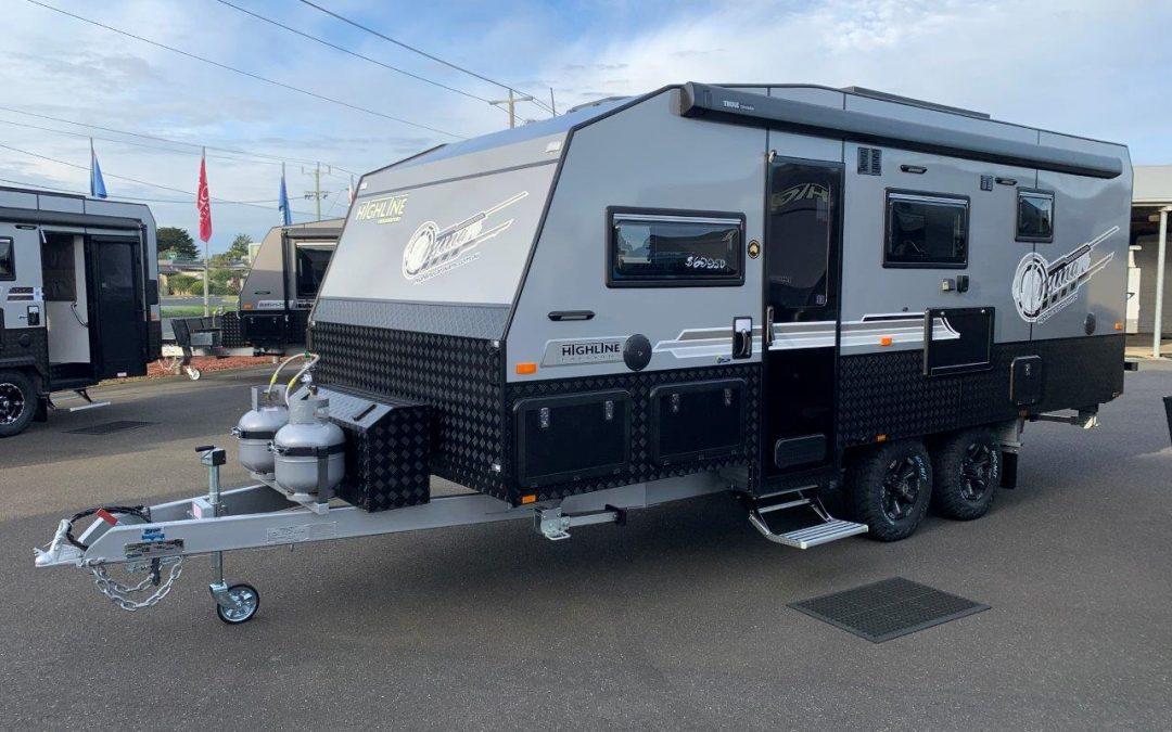 NEW Highline Kinsman 19'6 Caravan with 2 Bunk Beds
